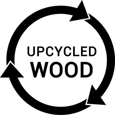 Upcycled Wood logo