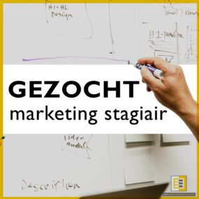 gezocht marketing stagiair